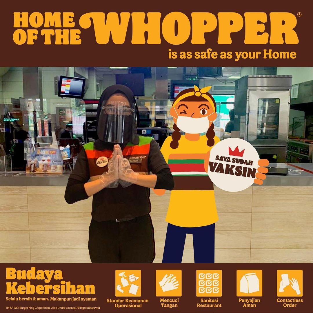 Promo BURGER KING CHEESEBURGER NATIONAL WEEK - Harga Spesial untuk Cheeseburger cuma Rp. 17.727