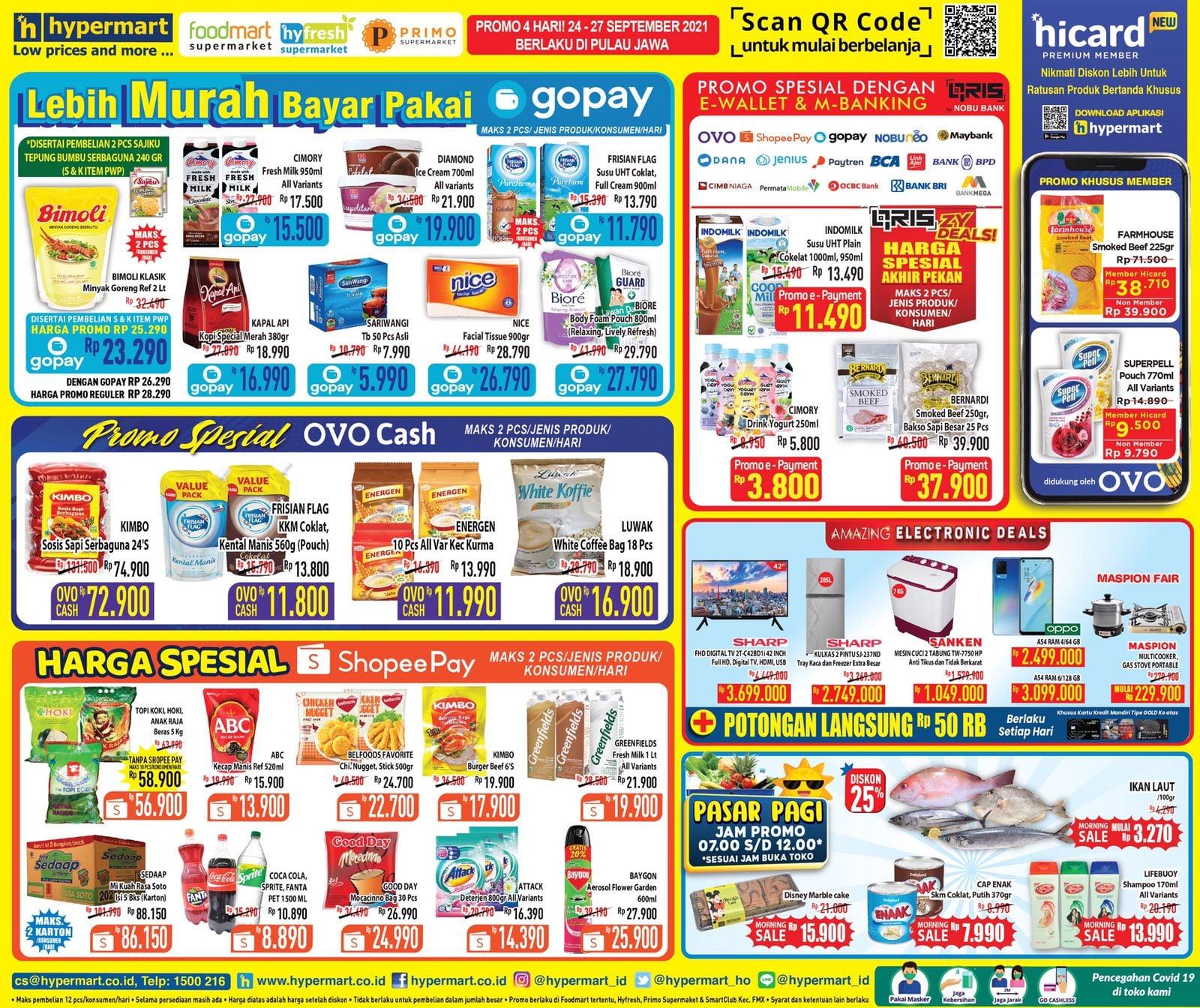 Promo Hypermart JSM Katalog Weekend periode 24-27 September 2021