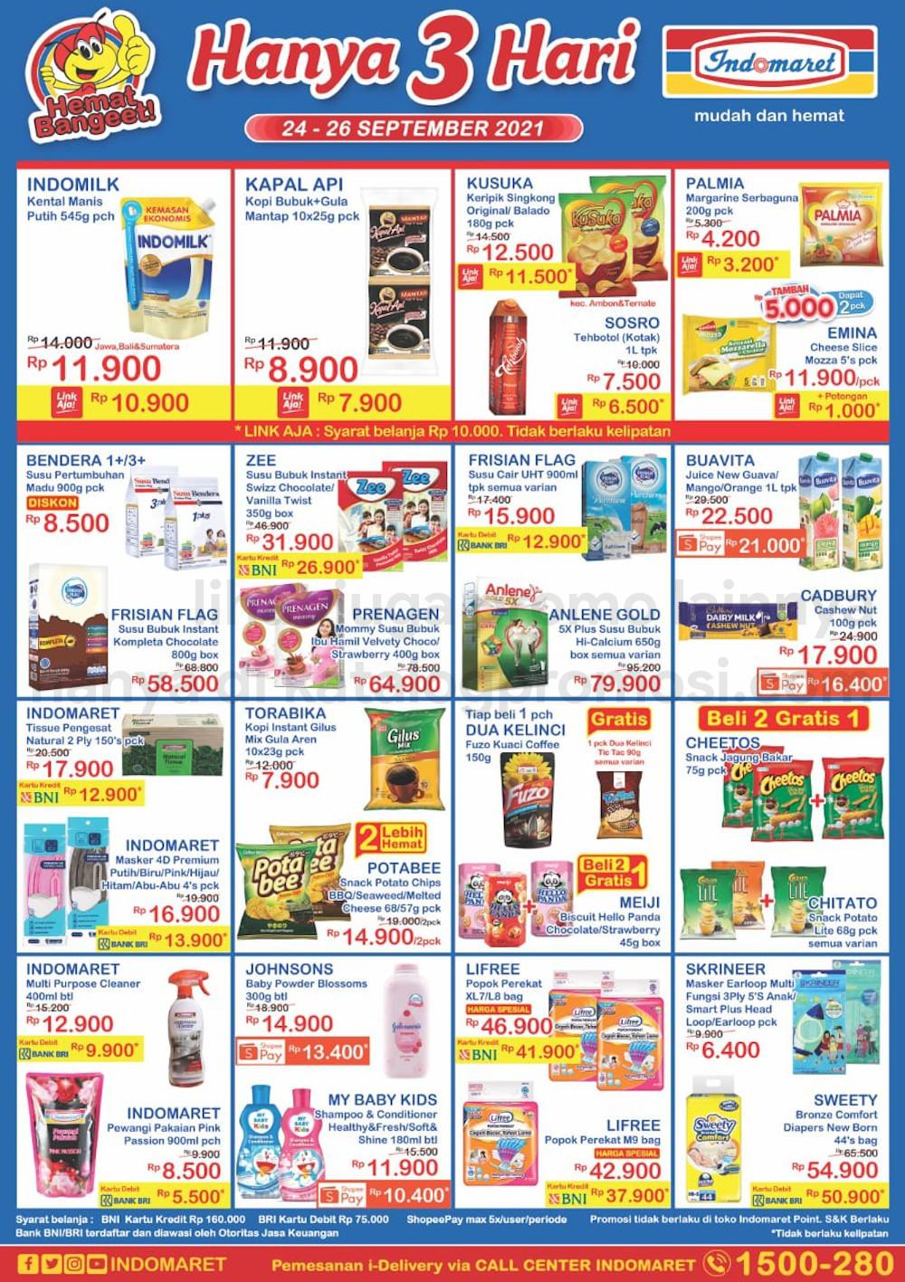 Promo INDOMARET JSM Katalog Weekend periode 24-26 September 2021