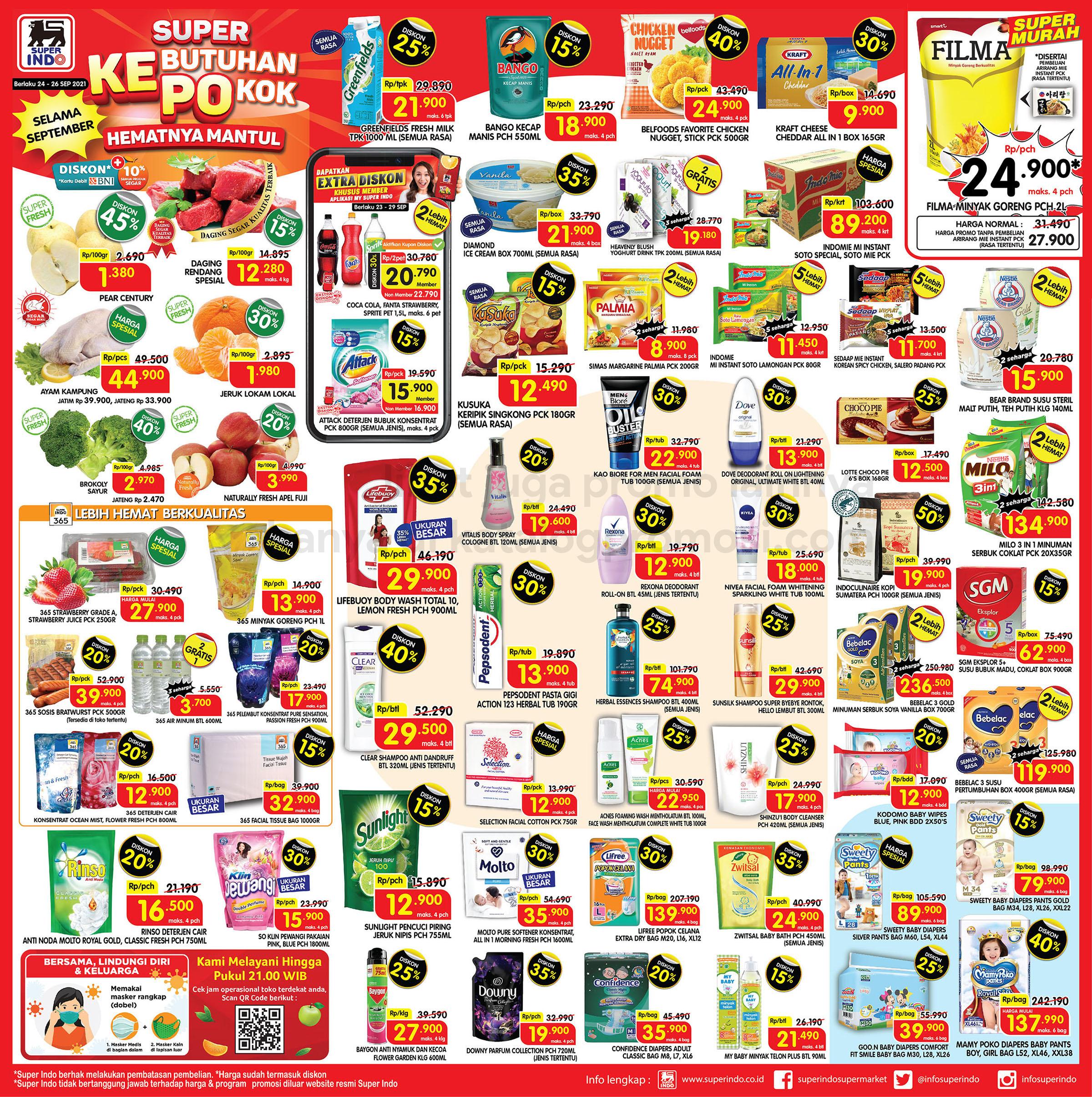 Promo Superindo JSM Katalog WEEKEND 24-26 September 2021