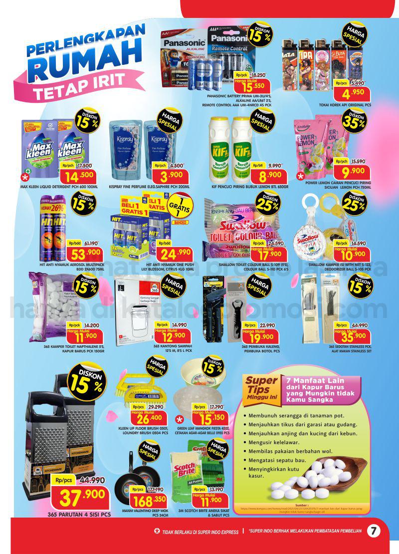 Promo Superindo Katalog Belanja Mingguan periode 23-29 September 2021