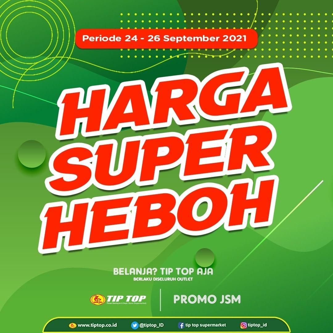 Katalog TIP TOP Pasar Swalayan Promo Weekend Periode 24-26 September 2021