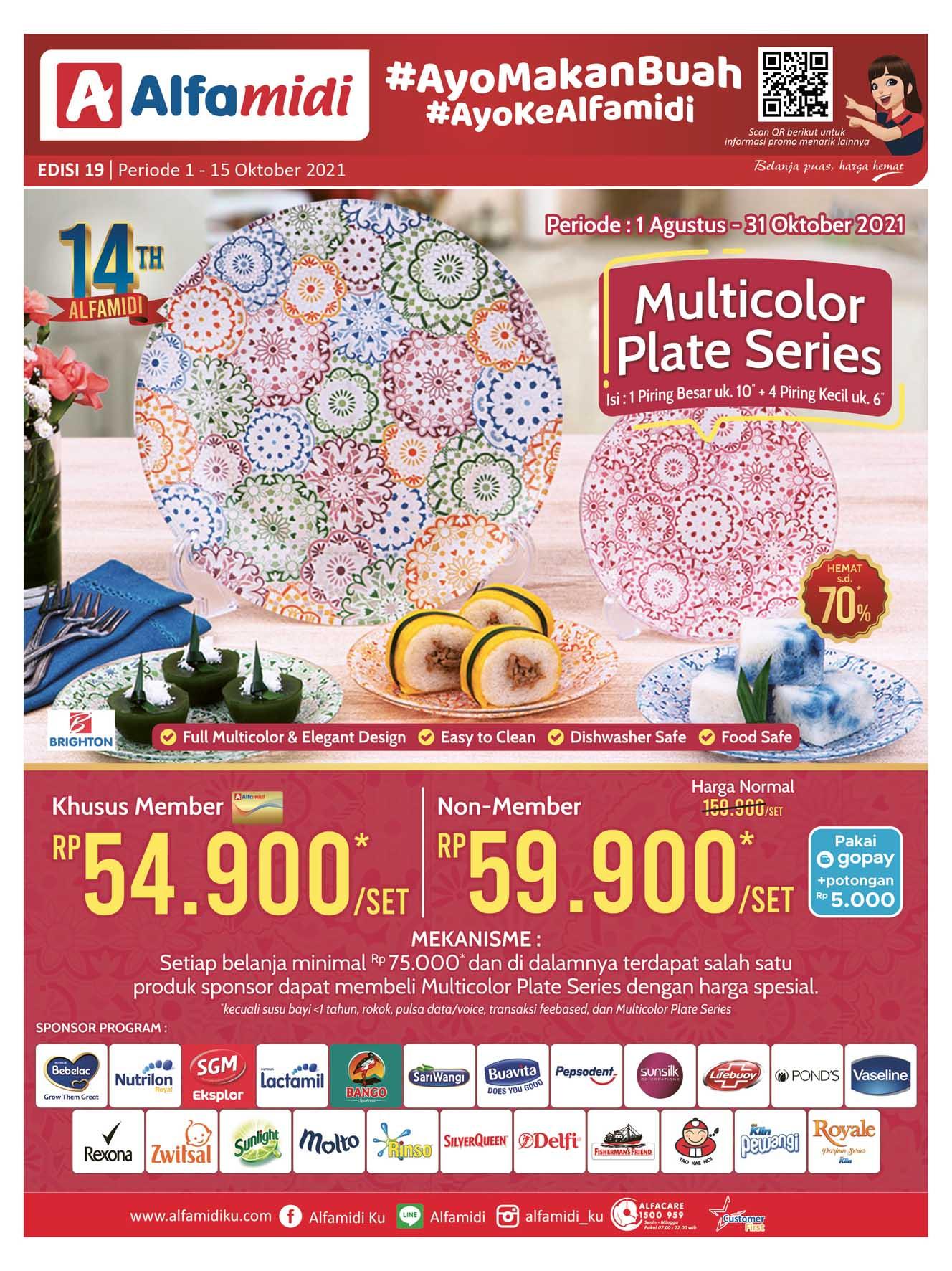 Katalog ALFAMIDI Promo Mingguan Periode 01-15 Oktober 2021