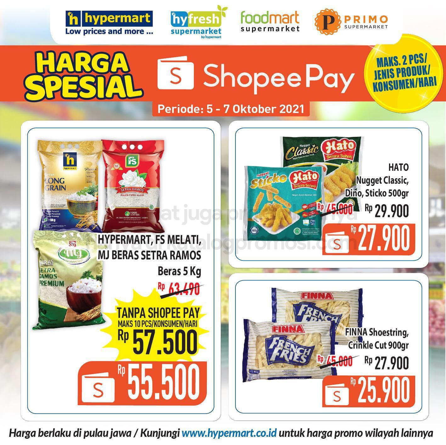 HYPERMART Promo HARGA SPESIAL khusus transaksi dengan ShopeePay